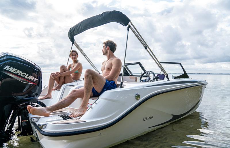 nueva embarcacion quicksilver 525 axess oferta cupon descuento salon nautico barcelona 2021 todo incluido navega proximo verano