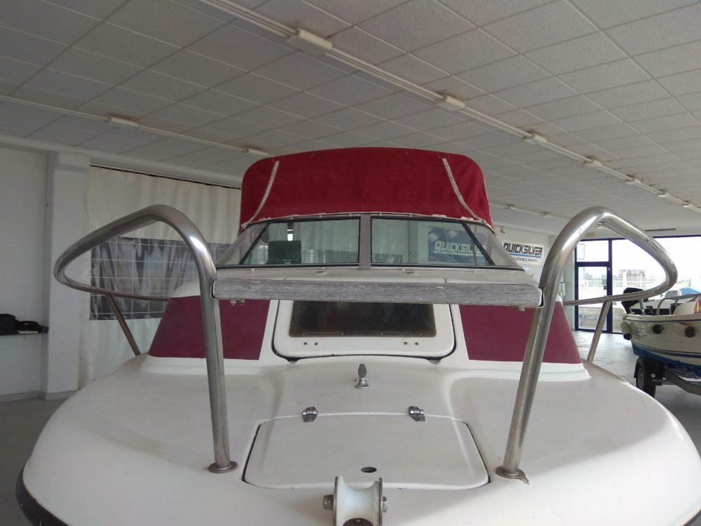 embarcacion swift craft 5 metros economica sabinal5 con motor auxiliar con remolque